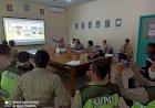 Satbinmas Polres Kubu Raya Lakukan Pembinaan Dan Sosialisasi Perpol No 04 Th 2020 Ke Satuan Pengamanan di PT. BPK