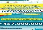 Total Hadiah dan Bantuan Implementasi Program Mencapai 457 Juta Rupiah